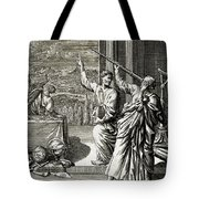 Greek Astronomer Studying The Stars Tote Bag
