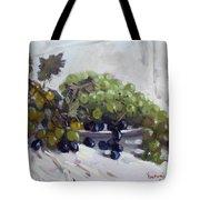 Greek Grapes Tote Bag