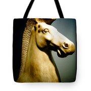 Greek Horse Statue Tote Bag