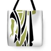 Greek Man In Olive Tote Bag