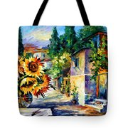 Greek Noon Tote Bag