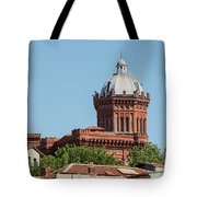 Greek Orthodox College Dome Tote Bag