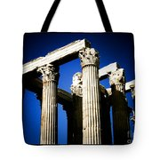 Greek Pillars Tote Bag
