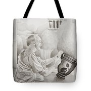 Greek Pottery Tote Bag