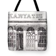 Greek Restaurant In Astoria, Ny Tote Bag