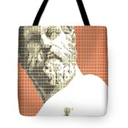 Greek Statue #1 - Orange Tote Bag
