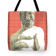 Greek Statue #2 - Orange Tote Bag