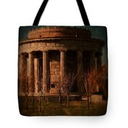 Greek Temple Monument War Memorial Tote Bag
