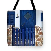 Greek Traditional House Tote Bag