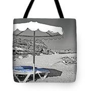 Greek Umbrella Tote Bag