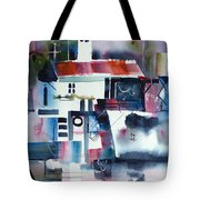 Greek Village Tote Bag