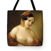 Greek Woman Tote Bag