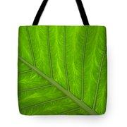 Green Abstract No. 4 Tote Bag