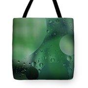 Green Abstract Tote Bag