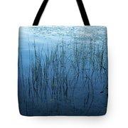 Green And Blue Serenity - Smooth Wetland Morning Tote Bag