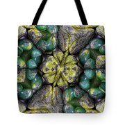 Green And Blue Stones 2 Tote Bag