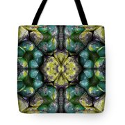 Green And Blue Stones 3 Tote Bag