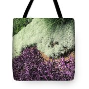 Green And Purple Tote Bag