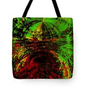 Green And Red Tote Bag