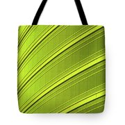 Green And Yellow Building Abstract Tote Bag