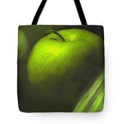 Green Apple Drama Tote Bag