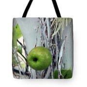 Green Apple Tote Bag