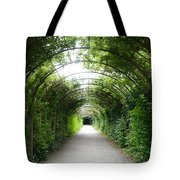 Green Arbor Of Mirabell Garden Tote Bag