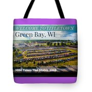 Green Bay Evening 1 W/text Tote Bag