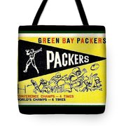 Green Bay Packers 1959 Pennant Tote Bag