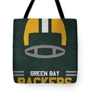 Green Bay Packers Vintage Art Tote Bag