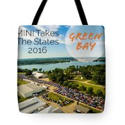 Green Bay Rise/shine 2 W/text Tote Bag