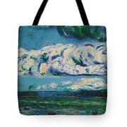 Green Beach Tote Bag