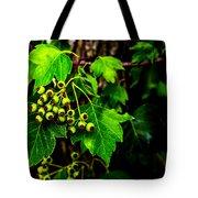 Green Berries Tote Bag