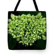 Green Bloom Tote Bag