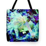 Green Blue Mix Tote Bag