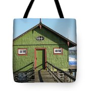 Green Boathouse Tote Bag