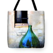 Green Bottle Italian Window Tote Bag