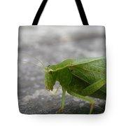 Green Bug Tote Bag