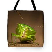 Green Bug Tote Bag