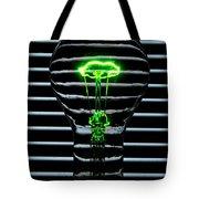 Green Bulb Tote Bag