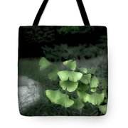 Green Butterflies  Tote Bag