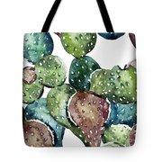 Green Cactus  Tote Bag