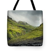 Green Canyon Tote Bag