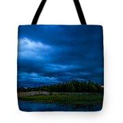 Green Cay Storm 5 Tote Bag