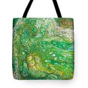 Green Cells Tote Bag