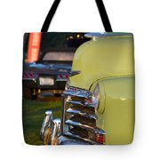 Green Chevy Tote Bag