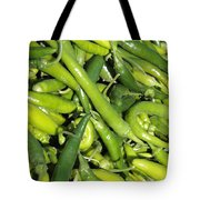 Green Chilis Tote Bag