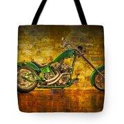 Green Chopper Tote Bag