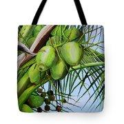 Green Coconuts-02 Tote Bag