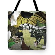 Green Collage 1 Tote Bag
